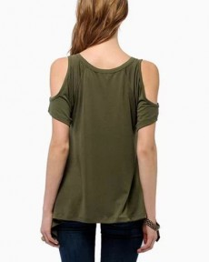 army-green-cold-shoulder-fishtail-hem-t-shirt-ts0150027-1-b