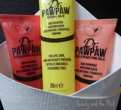 Dr. Paw Paw Lip Balms Review