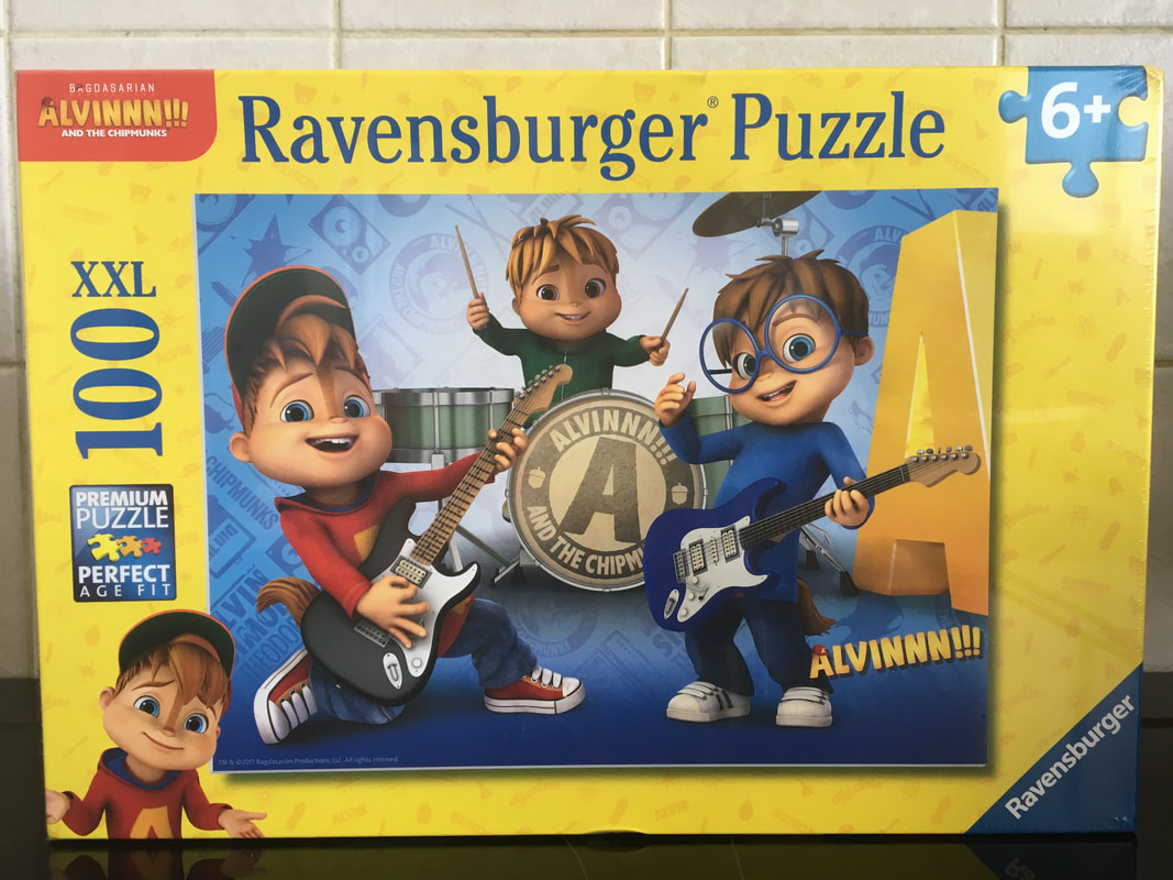 Adorable Ravensburger Are Always A Source Fact I Do Notthink We Own Any Puzzle That Is Not A Ravensburger Puzzle It Is Becausei Feel Ravensburger Alvin Chipmunks Xxl Piece Puzzle Beauty Our Puzzles inspiration 100 Piece Puzzles