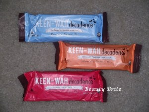Keen-Wah Decadence Bars from YogaEarth