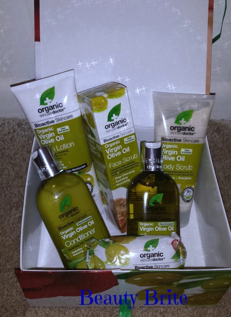 Organic Doctor Virgin Olive Oil Gift Set