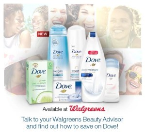 Walgreens and Dove what #beautyis to you