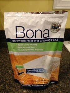 Bona Hardwood Floor Wet Cleaning Pads--Review