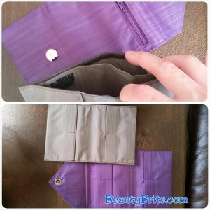 Inside Unique and fashionable wallets