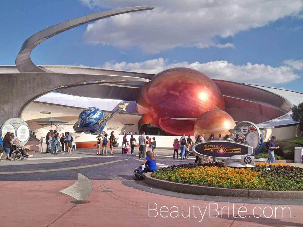 Epcot Spaceship Earth beautybrite