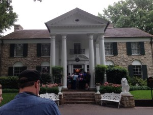 Graceland - mansion exterior