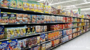 Cereal Aisle at Walmart beautybrite