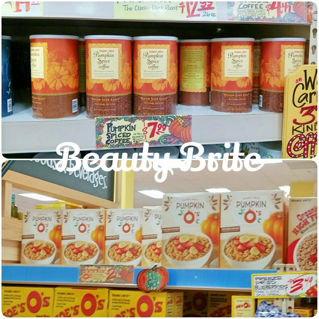 Pumpkin Spice Coffee and Cereal beautybrite