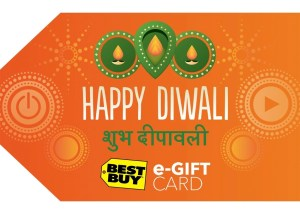 Best Buy celebrates the festival of lights with a special Diwali e-gift card