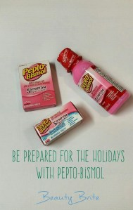 Be Prepared for the Holidays with Pepto-Bismol