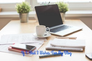 If I Had 3 Wishes For My Blog