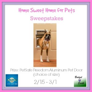 Home Sweet Home for PEts