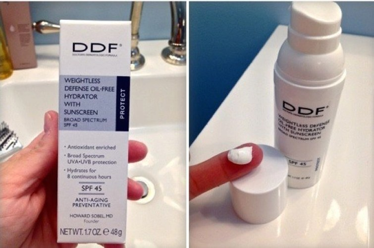 DDF® Weightless Defense Oil-Free Hydrator With Sunscreen SPF 45
