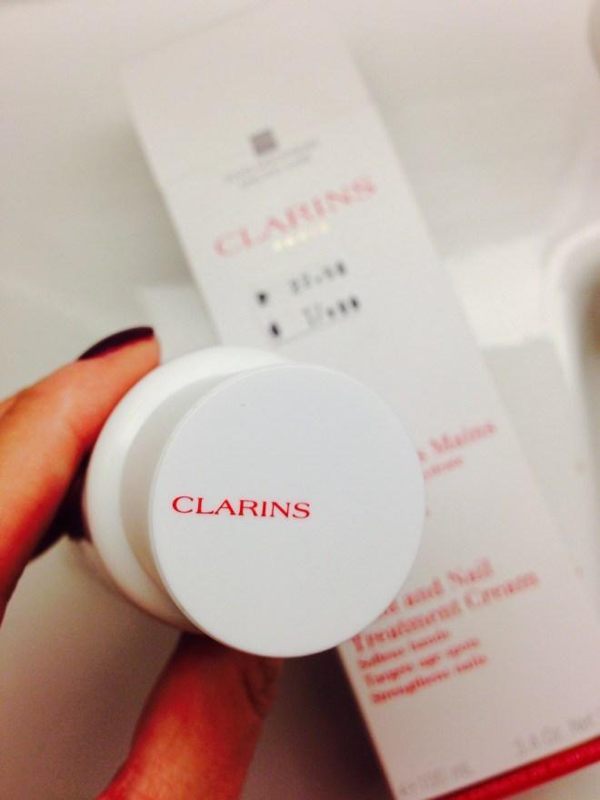 Clarins sköna handkräm