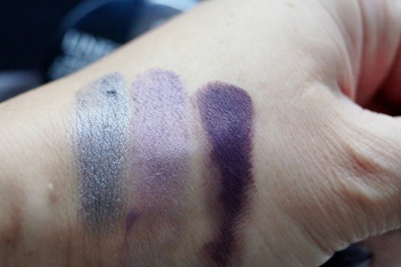 Swatches Bourjois Intense Smokey