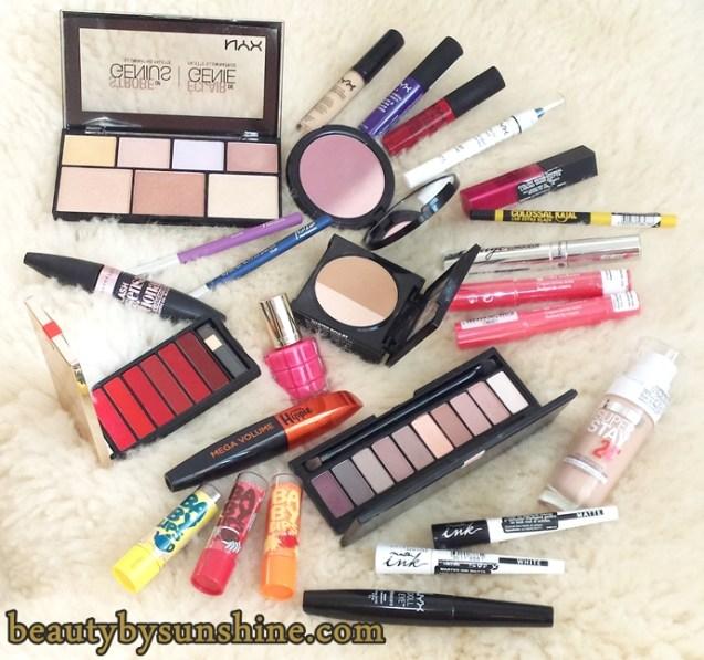 makeup-nyx-loreal-maybelline-yves-rocher-beautybysunshinecom