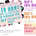 Illamasqua Easter Hunt – 50% off Selected Products