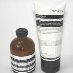 Aesop Exfoliators: Tea Tree Leaf Facial Exfoliant and Purifying Facial Exfoliant Paste