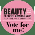 Beauty Blogger Awards 2015