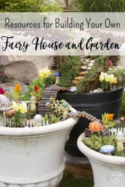 Tremendous Bring Wonder Garden Make Your Own Fairy Garden Door Make Your Own Fairy Garden Pond Building Your Own Fairy House This Resource List To Makeyour Resources Fairies To Your Own Backyard
