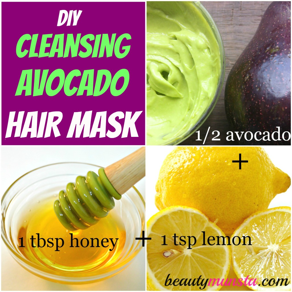 avocado hair mask recipes for luxurious hair beautymunsta. Black Bedroom Furniture Sets. Home Design Ideas