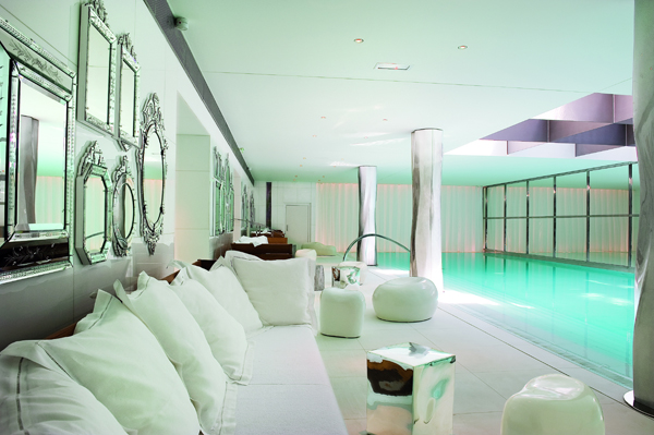 La SPA My Blend by Clarins all'interno dell'Hotel Le Royal Monceau a Parigi