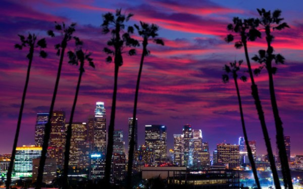 Downtown-Los-Angeles-California-at-Sunset-e1384378648249
