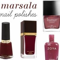 10 Marsala Nail Polish Picks