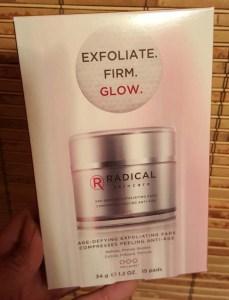 Radical Exfoliate Pads 1