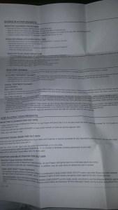 Bionova Regimen Instructions 1