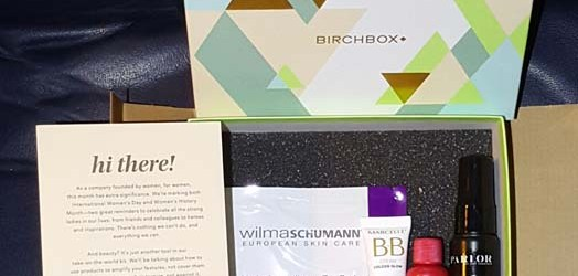 March Birchbox 1