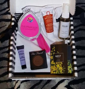 July 2016 Sephora Play 1