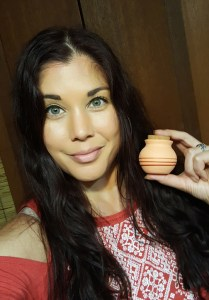 Wearing California Sun Glow Bronzer from Time to Spa