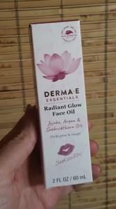 DERMA E Radiant Glow Face Oil 1