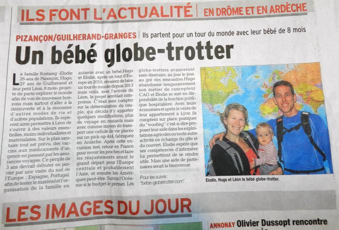Bebe globetrotter 109