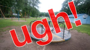 I hate playgrounds.