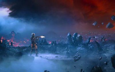 scene fra 3DAR's kortfilm Uncanny Valley