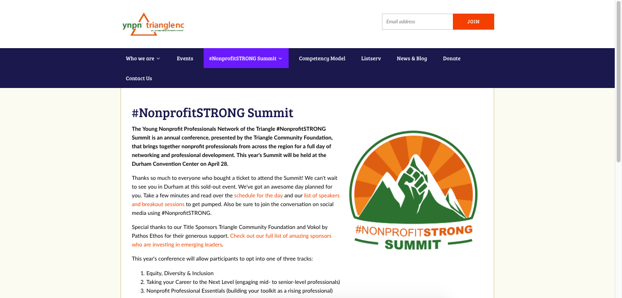 #NonprofitSTRONG Event Page