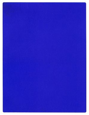 Blue, lots of it