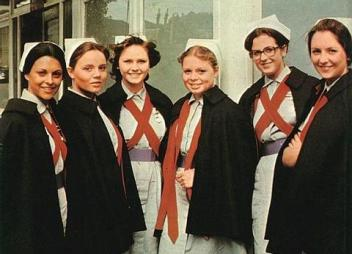 The nurses with exciting lives