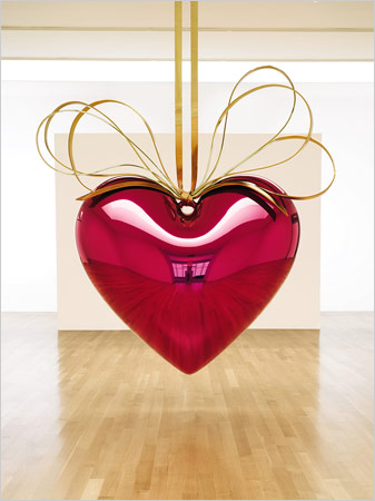 The hanging heart