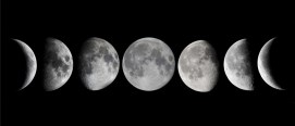 Are you more creative at full moon or new moon?