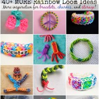 40+ Rainbow Loom Ideas - Vol II