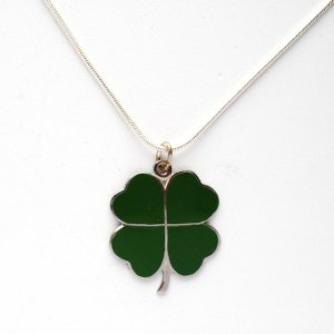#sterling silver #charms #st patricks day #jewelry #necklace