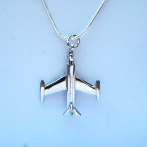 airplanes, airplane charm, sterling silver, sterling silver necklaces, necklaces, airplane necklace, vintage, vintage charms, jetsetter, traveller, travel, travel blogger