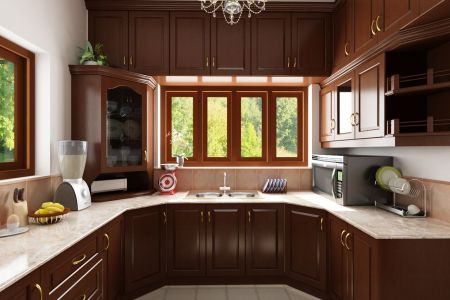 simple kitchen designs in india