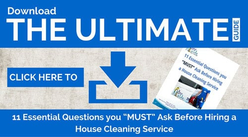 Bee Maids ultimate guide to house cleaning