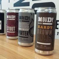 Moody Ales Releases the Crowler - A Growler Sized 946ml Beer Can
