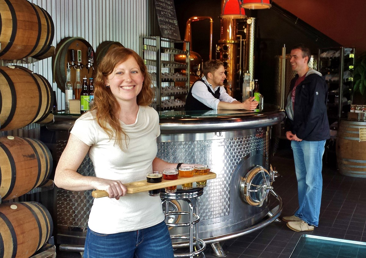 Women of BC Craft Beer - Rachel Riggs - Vancouver Brewery Tours
