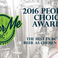 2016 People's Choice Awards - The Best in BC Craft Beer